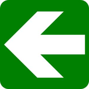 Lurus ke arah kiri