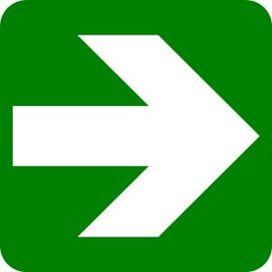 Lurus ke arah kanan