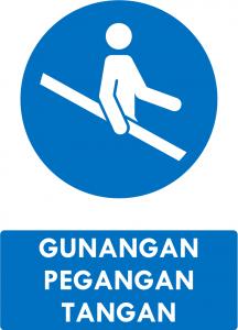 Gunakan Pegangan Tangan