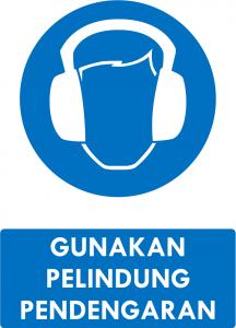 Gunakan Pelindung Pendengaran