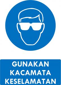Gunakan Kacamata Keselamatan