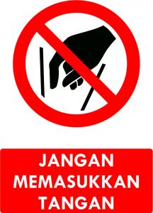 Jangan Masukkan Tangan