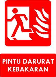 Pintu Darurat Kebakaran Kiri