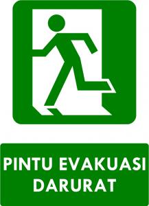 Pintu Evakuasi Darurat Kiri