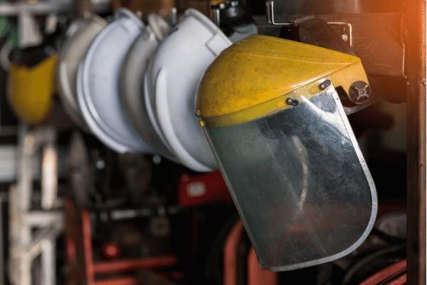SOP K3 Face Shield kerja