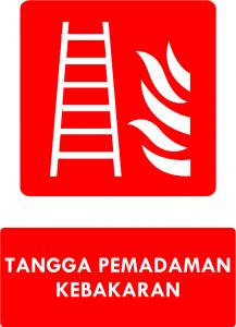 Tangga Pemadaman Kebakaran