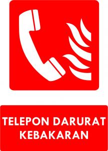 Telepon Darurat Kebakaran