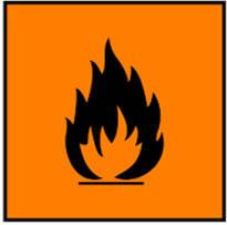 mudah terbakar