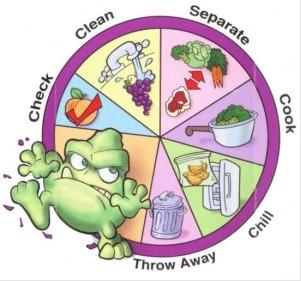 5 sanitasi makanan dan contohnya